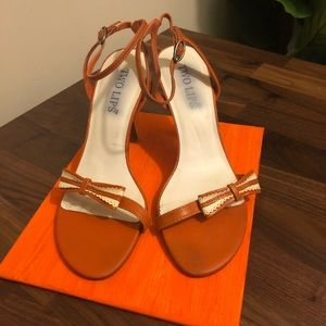 Two Lips Ankle Strap sandals